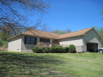 Brooklyn MI Single Family Home For Sale: $168,000