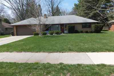 Single Family Home For Sale: 1120 S Durand