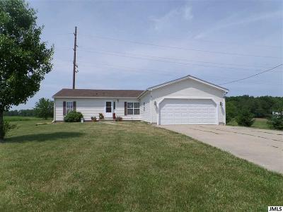 Cement City MI Single Family Home For Sale: $124,900