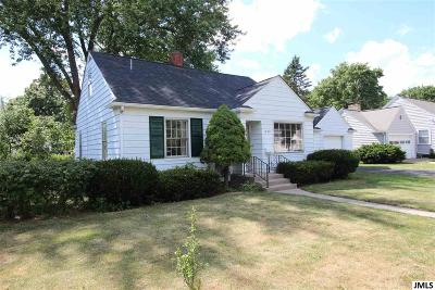 Jackson Single Family Home For Sale: 1028 S Webster St