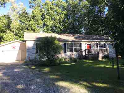 Jerome MI Single Family Home For Sale: $120,000