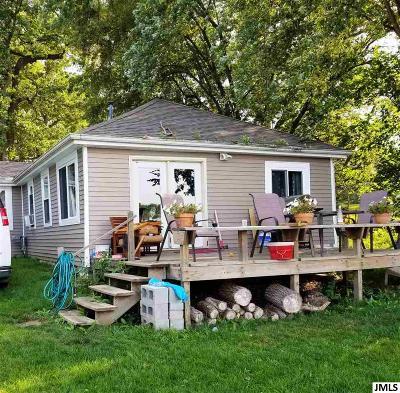 Pleasant Lake MI Single Family Home For Sale: $159,900