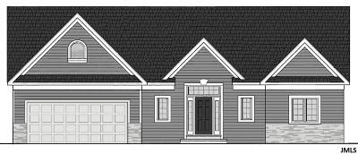 Single Family Home For Sale: 2814 Prairie Ridge