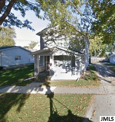 Jackson MI Single Family Home Contingent: $34,900