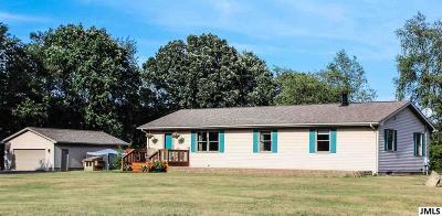 Single Family Home For Sale: 4897 N Cross Rd