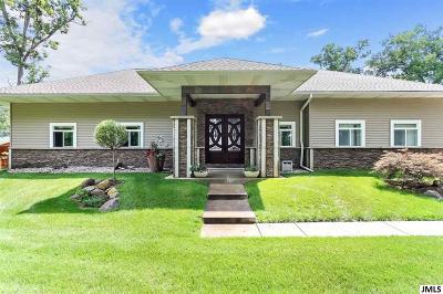 Single Family Home For Sale: 737 Oak Pt Dr