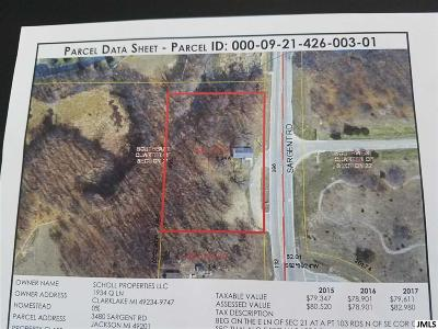 Jackson County Commercial Lots & Land For Sale: 3480 Sargent Rd