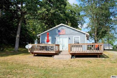 Horton MI Single Family Home For Sale: $179,900