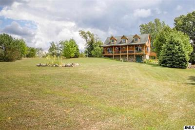 Single Family Home For Sale: 9575 Maines Rd