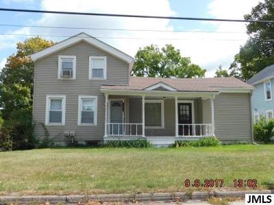 Spring Arbor Multi Family Home For Sale: 117-119 Teft Rd