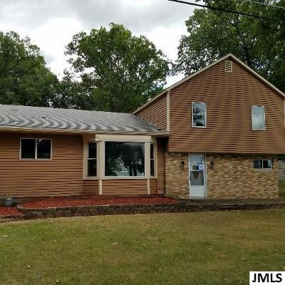 Hillsdale MI Single Family Home For Sale: $89,900