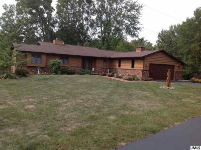Single Family Home For Sale: 6330 McCain Rd