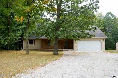 Single Family Home For Sale: 2822 Gilletts Lake Rd