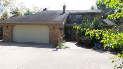 Single Family Home For Sale: 12501 Wamplers Lake Rd