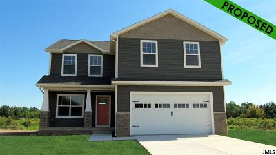 Single Family Home For Sale: 2846 Tall Grass