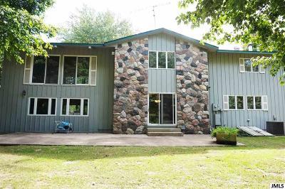 Grass Lake MI Single Family Home For Sale: $305,000
