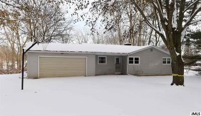 Concord MI Single Family Home For Sale: $164,900