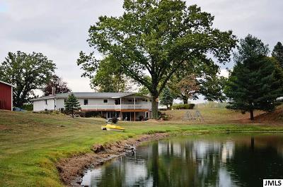 Single Family Home For Sale: 9425 Benn Rd