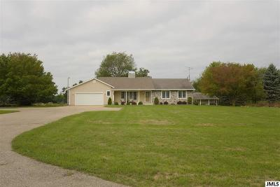 Jackson MI Single Family Home For Sale: $495,000