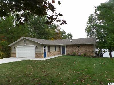 Jerome MI Single Family Home For Sale: $399,900
