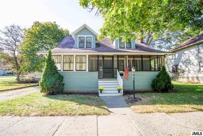 Jackson MI Single Family Home Contingent - Financing: $69,900