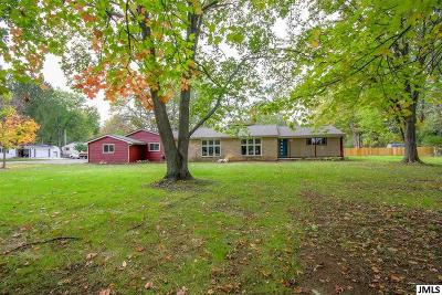 Jackson Single Family Home For Sale: 3160 Horton Rd