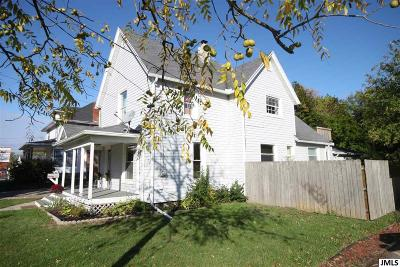 Jackson Single Family Home For Sale: 1016 E Ganson