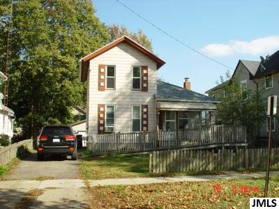 Jackson Single Family Home For Sale: 201 N Pleasant St