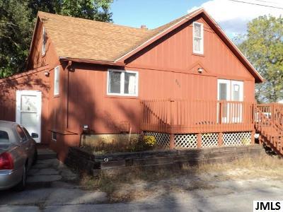 Michigan Center MI Single Family Home For Sale: $76,900