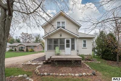 Jackson MI Single Family Home Contingent - Financing: $109,900