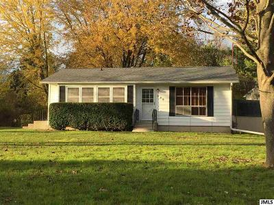 Horton MI Single Family Home For Sale: $107,500