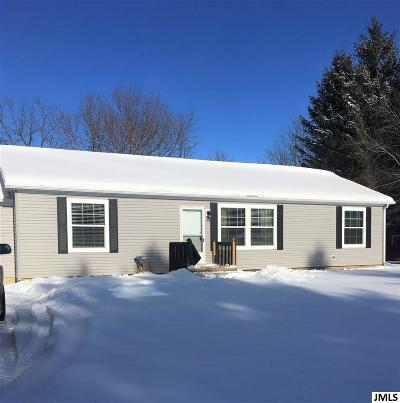 Spring Arbor Single Family Home For Sale: 6408 King Rd