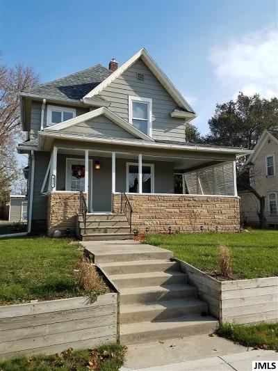 Jackson MI Single Family Home For Sale: $78,900
