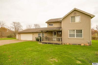 Jackson Single Family Home For Sale: 3502 Seymour Rd