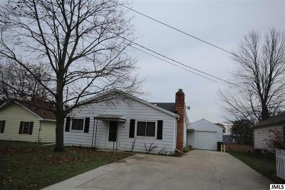 Michigan Center MI Single Family Home For Sale: $164,900