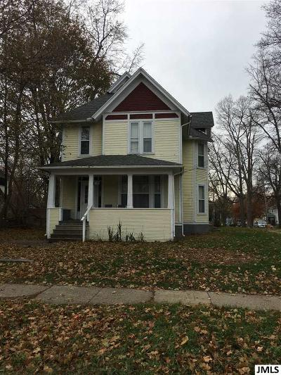 Jackson MI Multi Family Home For Sale: $32,000