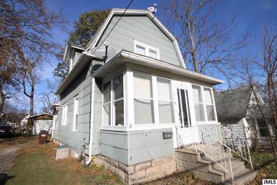 Jackson MI Single Family Home For Sale: $45,000