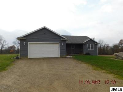 Single Family Home For Sale: 3800 Bath Mills Rd