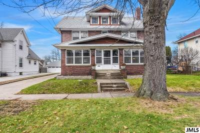 Jackson Single Family Home For Sale: 630 N Waterloo St