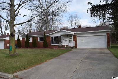 Jackson Single Family Home For Sale: 583 Rutledge