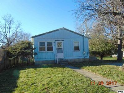 Jackson Single Family Home For Sale: 962 Whitney St