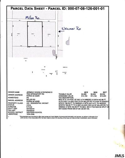 Parma MI Residential Lots & Land For Sale: $70,000