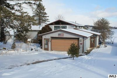 Cement City MI Single Family Home For Sale: $249,900