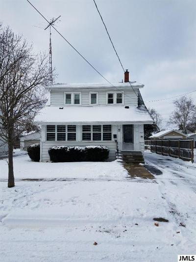 Jackson Single Family Home For Sale: 606 N Pleasant St