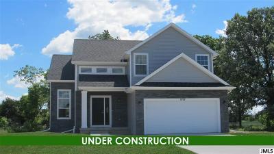 Jackson MI Single Family Home For Sale: $188,235