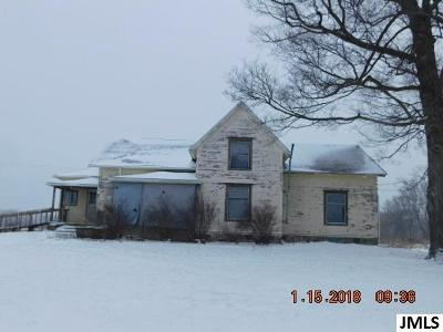Single Family Home For Sale: 2417 Corwin Rd