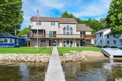 Manitou Beach MI Single Family Home For Sale: $799,000