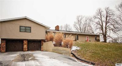 Single Family Home For Sale: 7998 Willson Rd