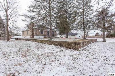 Single Family Home For Sale: 18387 Lewis Rd