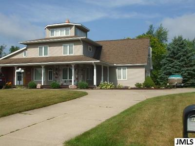 Single Family Home Contingent - Financing: 8474 Van Horne Estates Dr